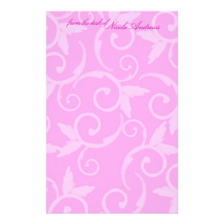 Stationery - Girly Swirl