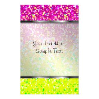 Stationery Glitter Graphic