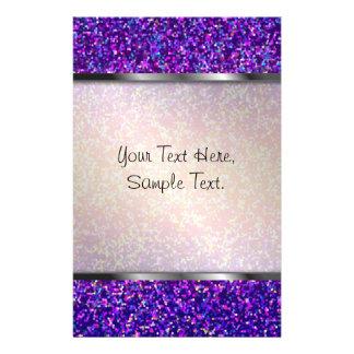 Stationery Glitter Graphic Background