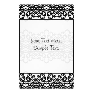 Stationery Lace Embroidery Design