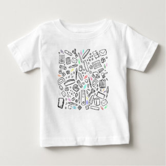 Stationery Lover Baby T-Shirt