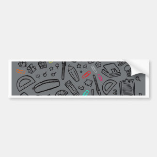 Stationery Lover Bumper Sticker