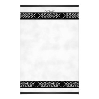 Stationery Silver White Black Shadow