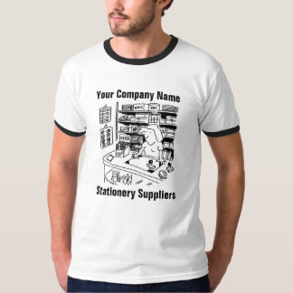 Stationery Suppliers Cartoon T-Shirt