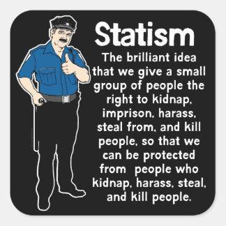 Statism Sticker