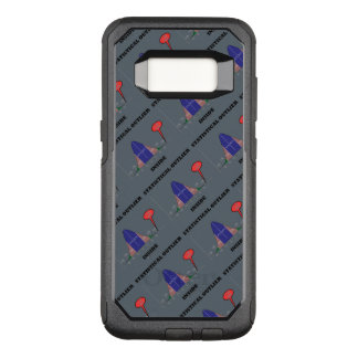 Statistical Outlier Inside Bell Curve Humor OtterBox Commuter Samsung Galaxy S8 Case
