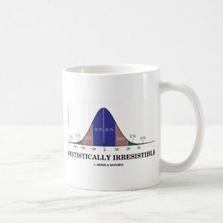 Statistically Irresistible (Stats Humor) Mugs