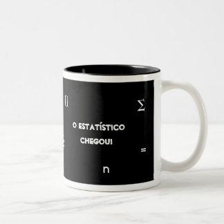 Statistician Two-Tone Coffee Mug