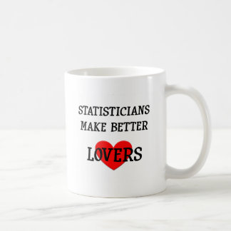 Statisticians Make Better Lovers Coffee Mug