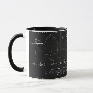 Statistics blackboard mug