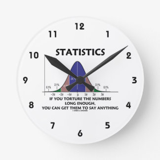 Statistics If You Torture The Numbers Long Enough Wall Clock