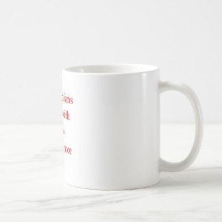 statistics basic white mug