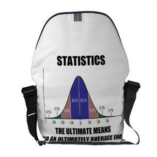 Statistics Ultimate Means Ultimately Average End Courier Bags