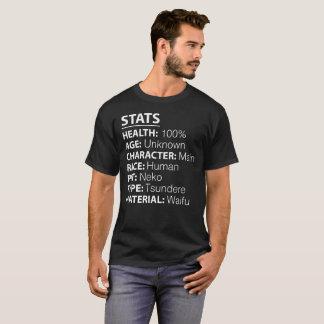 Stats Anime Shirt