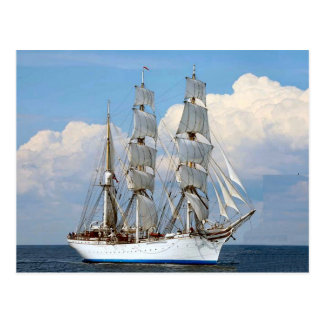Statsraad Lemkuhl, Norwegian tall ship Postcard