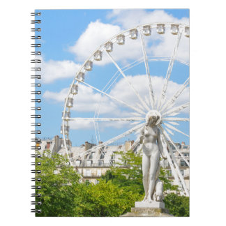 Statue depicting woman in Paris Notebooks
