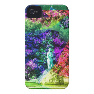 Statue, fountain and Tennis ball iPhone 4 Case-Mate Cases