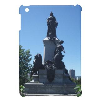 Statue in Montreal City iPad Mini Case