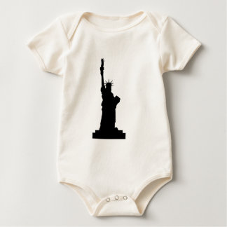 statue-liberty baby bodysuit