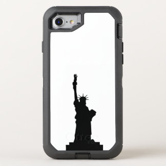 statue-liberty OtterBox defender iPhone 8/7 case