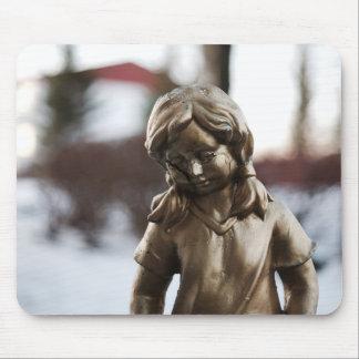 Statue mousepad