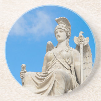 Statue of a queen coasters