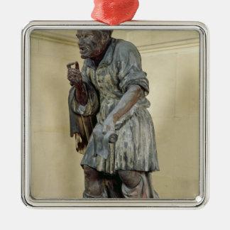 Statue of Aesop Metal Ornament