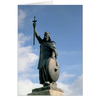Statue of Alfred the Great Card