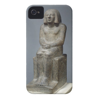 Statue of Ankh, Priest of Horus, Early Dynastic Pe iPhone 4 Cases