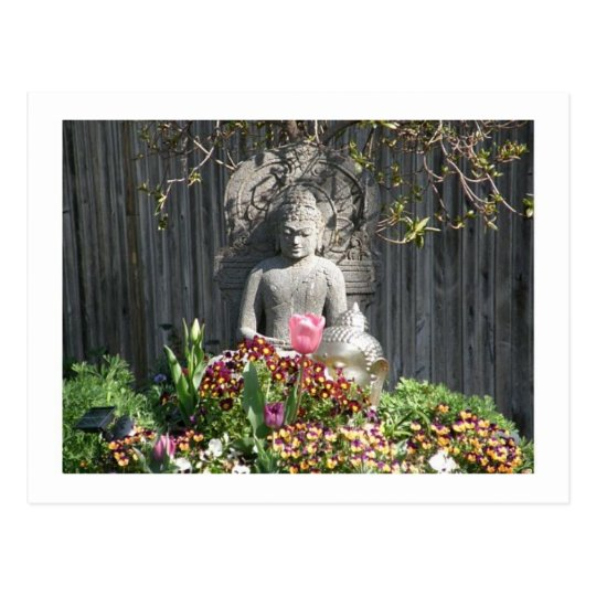 Statue of Buddha Postcard
