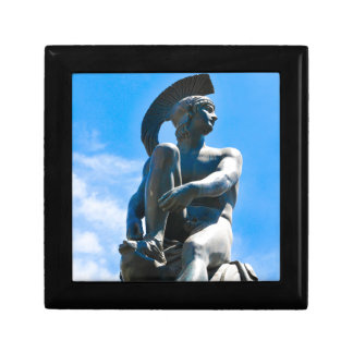 Statue of Greek soldier in Athens, Greece Gift Box