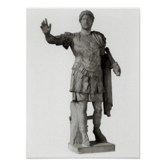 Statue of Hadrian  (marble Poster