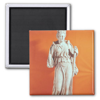Statue of Hecate Square Magnet