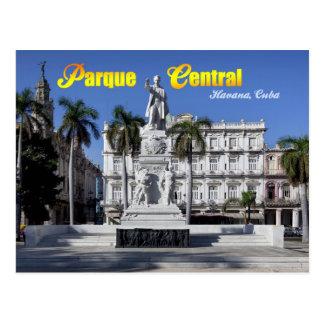 Statue of Jose Marti in Havana, Cuba Postcard