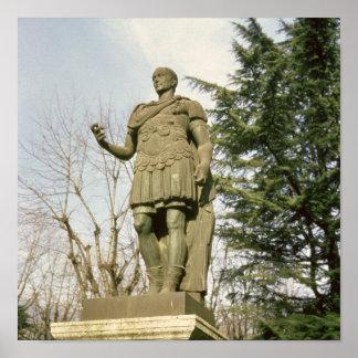 Statue of Julius Caesar Poster