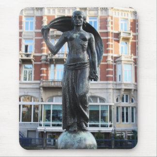 Statue of Lady Fortuna, Amsterdam Mouse Pad