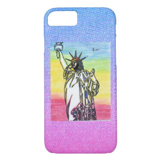 Statue of Liberties wallpaper case