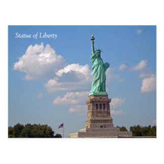 Statue of Liberty 002 Postcard
