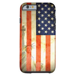 Statue of Liberty American Flag iPhone 6 case