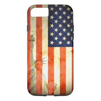 Statue of Liberty American Flag iPhone 7 case