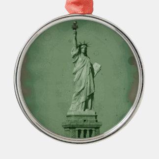 Statue of Liberty Christmas Ornament