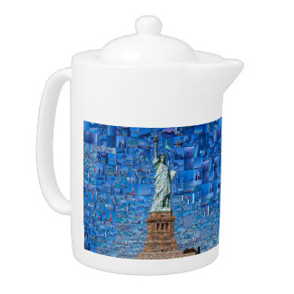 statue of liberty collage - statue of liberty art