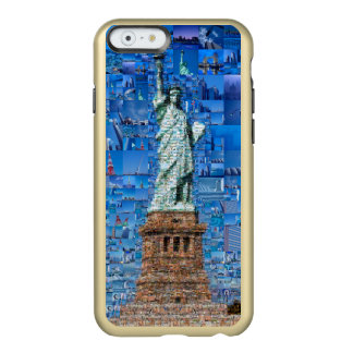 statue of liberty collage - statue of liberty art incipio feather® shine iPhone 6 case