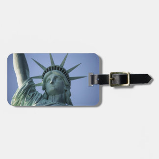 Statue of Liberty custom luggage tag