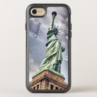 Statue of Liberty custom monogram phone cases