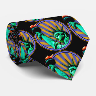 Statue of Liberty Emblem Design Tie