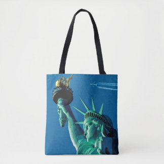 Statue of Liberty for All-Over-Print Tote Bag