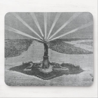 Statue of Liberty, from 'The Graphic' Mouse Pad