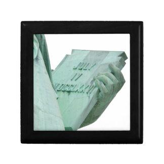 Statue-of-Liberty Gift Box