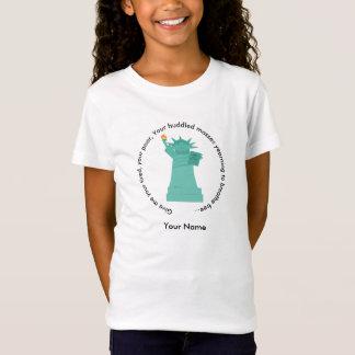 Statue of Liberty Girls' T-Shirt